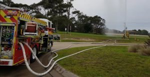 Advent Security supporting the community Lakes Entrance Fire Brigade